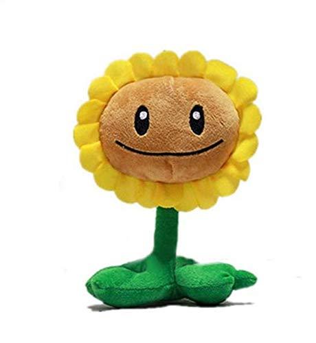 LAARNT 20 cm Simulazione girasole peluche giocattolo, cuscino fiore del sole, forma di pianta peluche bambini regalo di compleanno