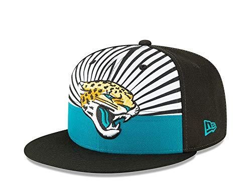 New Era NFL Jacksonville Jaguars 2019 Official ON-Stage 9FIFTY Snapback Draft Cap