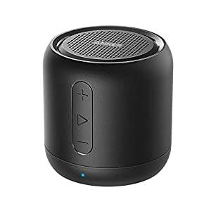 Anker SoundCore mini, Bluetooth Speaker, Super-Portable Bluetooth Speaker with 15-Hour Playtime, 66-Foot Bluetooth Range, Enhanced Bass, Noise-Cancelling Microphone by Anker