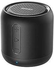 Anker SoundCore Mini-bluetooth-luidspreker, compacte luidspreker met 15 uur speeltijd, fantastisch geluid, 20 meter Bluetooth bereik, FM-radio en intensieve bas