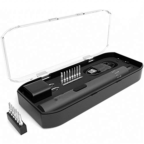 18 in 1 Precision Electric Screwdriver with 14 Screw Bits 8 Speed Screw Driver Electronics Repair Tools Cordless Screwdriver