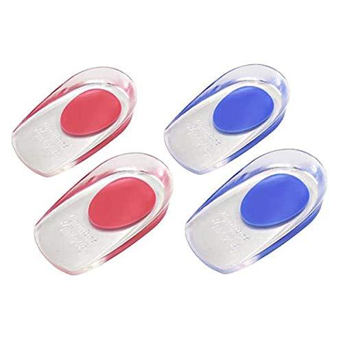 WWDD 2 Paar Einlegesohlen Schweißfüße Speziell Bei Fersensporn,euphoric Feet Einlegesohlen Optimale Dämpfung Maximaler Halt,Gel Einlegesohlen Damen Für Fersen Auf Harten OberflächenSmall