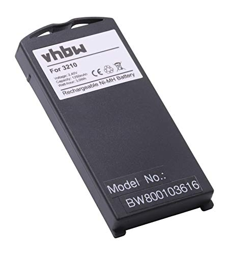 vhbw NiMH Akku 1200mAh (2.4V) für Telefon, Handy, Smartphone Nokia 3210 wie BML-3.