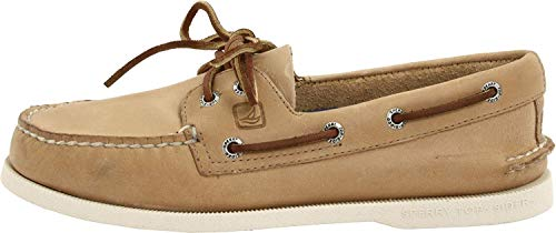 Sperry Mens A/O 2-Eye Boat Shoe, Oatmeal, 11