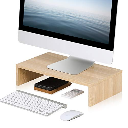 FITUEYES Moniteur Stand Bois Cou...