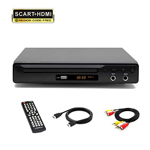LP-077 Reproductor de DVD Multi Region Full HD