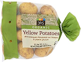 365 Everyday Value Organic Yellow Potatoes, 3 Pound