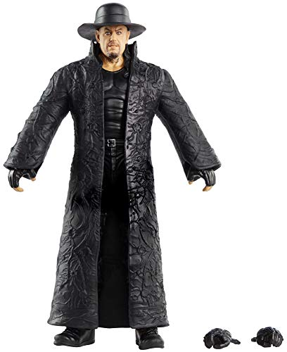 WWE GKY31 - Elite Collection Action Figur (15 cm) Undertaker, Actionfigur ab 8 Jahren
