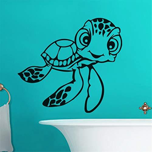 Vinyl Muursticker Stickers Home Decoratie Muurschildering Schildpadden Badkamer Badkuip Thuis Decor Toilet Decal 15 x 12 inch