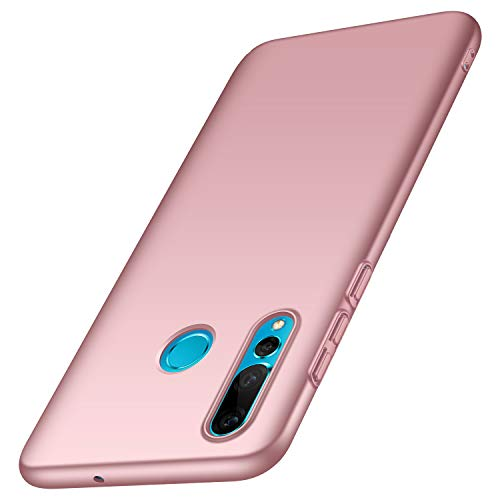 Huawei P Smart Plus 2019 Hülle, Anccer [Serie Matte] Elastische Schockabsorption & Ultra Thin Design für Huawei P Smart Plus 2019 (Glattes Rosen-Gold)