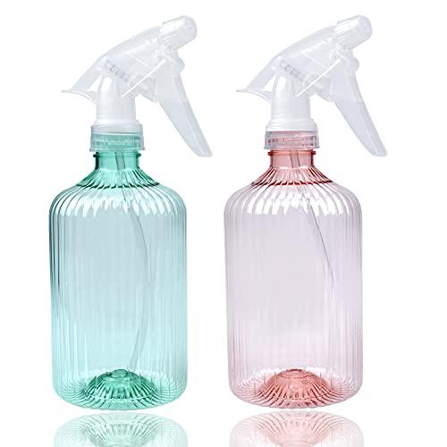 2 Piezas Botella de Spray, Botella de Spray Vacías de Plástico, Botella...