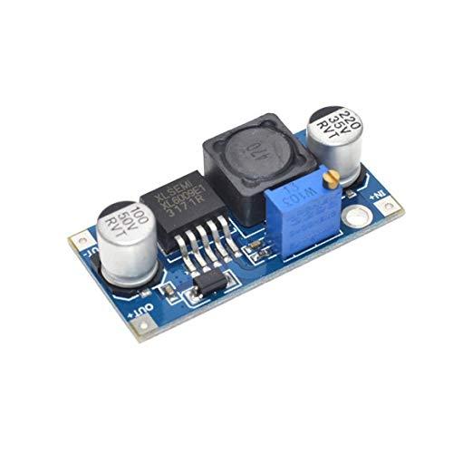 Xl6009 DC-DC-Boost-Modul Leistung Leistungsmodul Ausgang einstellbar Super Lm2577 4A Strom DC-DC-Leistungs-Boost-Modul Paperllong®
