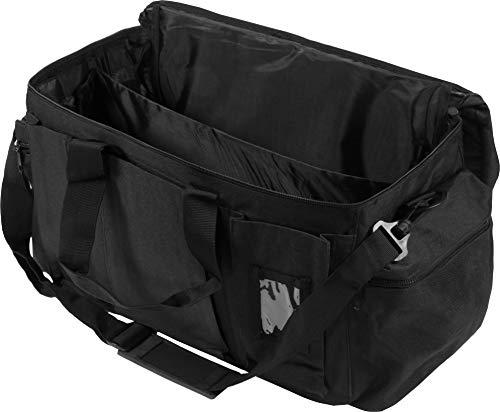 normani Einsatztasche SWAT schwarz 30 Liter mit Taschenschild