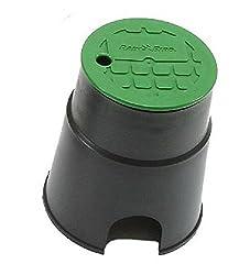 VBA02672: Runder Ventilkasten mit Deckel mit Bajonettverschluss Deckel inbegriffen