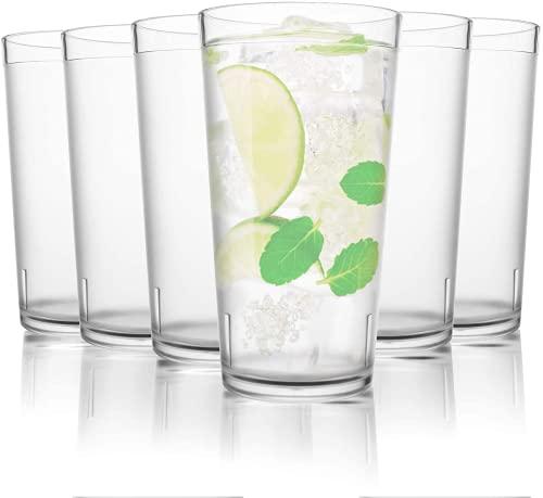 Vasos Agua Cristal Resistentes Marca PEMOTech