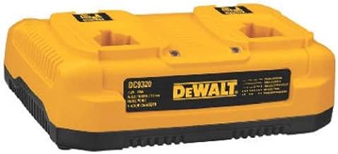 DEWALT Charger for 7.2V-18V Batteries, Dual Port (DC9320)