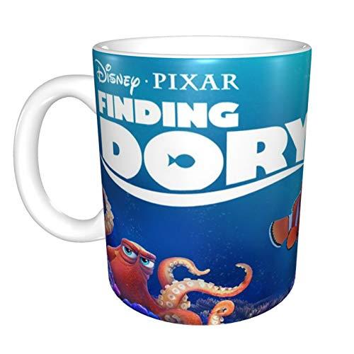 Taza de café con diseño de Buscando a Nemo, ideal como regalo para mujer, amiga, hermana, madre, hija, novia, amante de la moda, bonita niña, día de Acción de Gracias, Navidad, cumpleaños