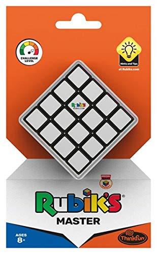ThinkFun 76400 - Rubik's Master, die 4x4 Herausforderung des original Rubik's Cubes. Bietet noch mehr Möglichkeiten als der klassische Zauberwürfel. Das Geschenk für Profis!