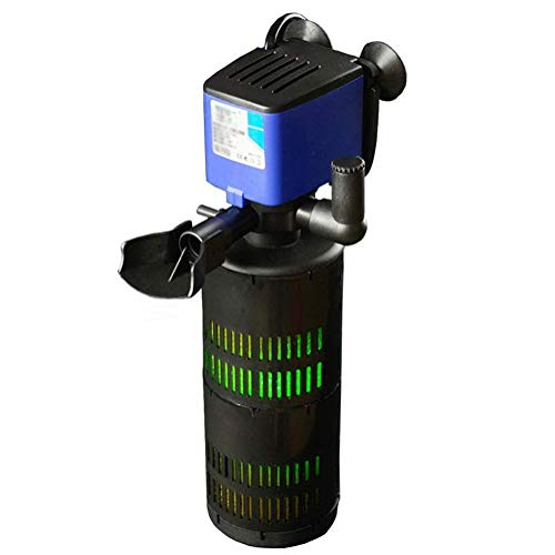 Aquarium filter Aquarium stille zuurstofpomp UV-lamp ingebouwd filter Three In One, F602 UV [energieklasse A]