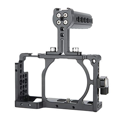 Kit de gaiola de câmera NICEYRIG para Sony A6400/A6100/A6300/A6000, com cabo HDMI de alça superior de queijo