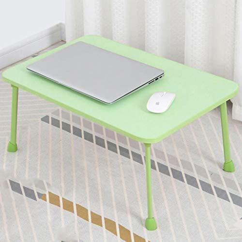 DNSJB College-bed-bureau, laptopbureau, klaptafel, kleine eettafel voor kinderen, 60 x 40 x 28 cm
