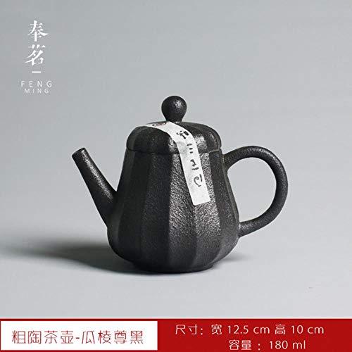 LHXS Theepot Handgemaakte Thee Set Ourdoor Kung Fu Thee Ketel Home Decor Japan Retro Stijl Theepotten
