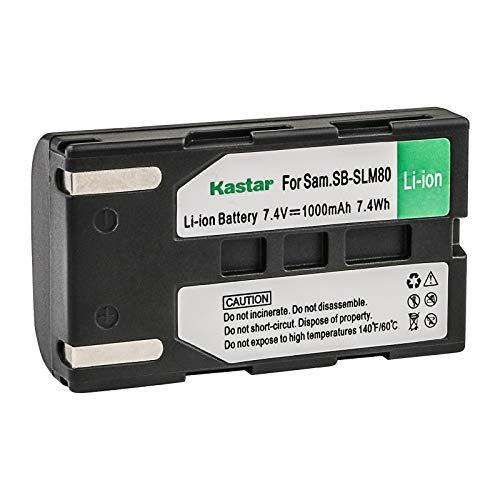 Kastar Battery Pack for Sam SB-LSM80 SB-LSM160 SB-LSM320 and Sam SC-D263 SC-D362 SC-D363 VP-D964 VP-D965 VP-DC161 VP-DC163 VP-DC165 VP-DC171 VP-DC172 VP-DC173 VP-DC175 VM-DC560 Camcorders