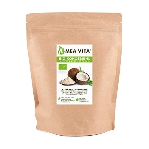 meavita Bio Coco farine, 1er Pack (1x 500g)