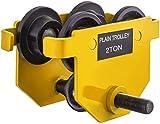 Carro de viga de empuje manual Capacidad de tracción de 2 toneladas Carro...