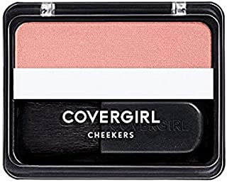 COVERGIRL Cheekers Blendable Powder Blush Brick Rose. 12 oz (packaging may vary)