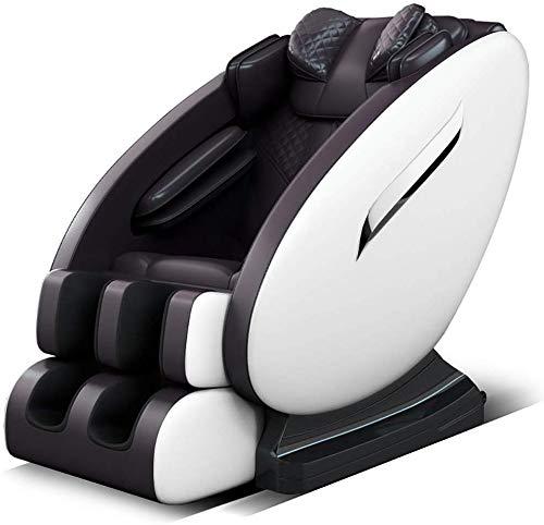 SISHUINIANHUA Poltrona 4D Massage Chair, Professionista Relax shiatsu con 5 programmi Multi-Funzione di Musica di Bluetooth per Massaggi