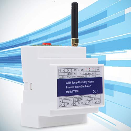 Alarma de salida de energía, alarma de temperatura, temperatura y humedad, GSM SMS inalámbrico para estado de energía Paneles solares Voltaje CC
