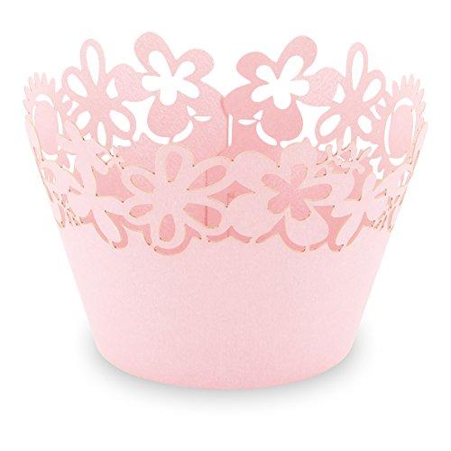 Elfenstall Cupcake/Muffin Papierförmchen - Zierumrandung - Dekorand