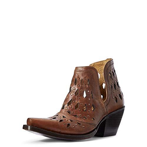 ARIAT Dixon Damen Schuhe, Nieten, legere Stiefelette, Braun (bernsteinfarben), 39 EU