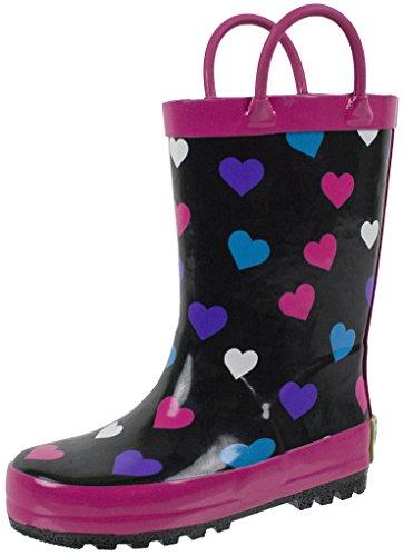 Minnetonka Double Fringe Side Zip Boot for Kids 3 M Turquoise