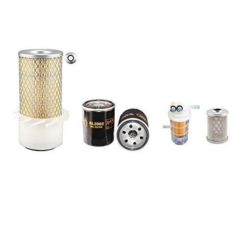 Peljob ED750 Kipper Filter Service Set Mit / L2E Motor, Luft, Öl, Kraftstofffilter