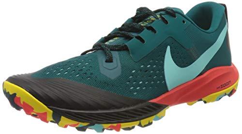 Nike Men's Air Zoom Terra Kiger 5 Trail Running Shoes Geode Teal/Aurora Green-Black Size 10.0