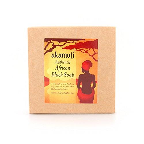 Akamuti African Black Soap 500G by Akamuti