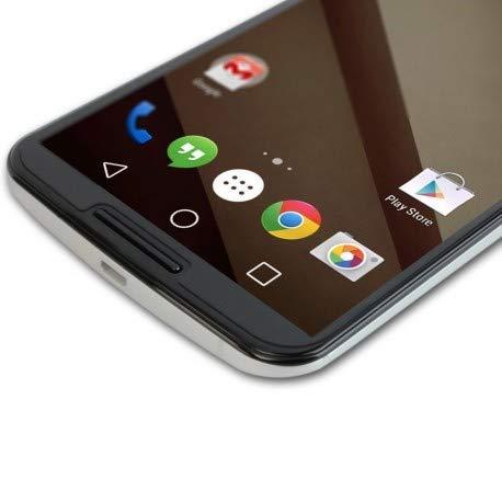 DrPhone - Protector de Pantalla para Nexus 6 (Cristal Templado, 2.5D, 9H,...