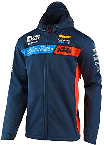 Troy Lee Designs Men's TLD KTM Team Pit Jackets,Medium,Navy
