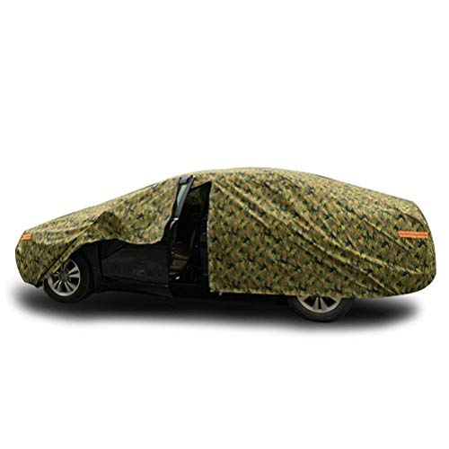 Dikke Car Cover, Camouflage Sunscreen Cover for alle modellen Outdoor afdekhoes dsnmm (Color : Peugeot 408)