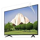 JANEFLY Proteggi Schermo TV per Monitor da 32-52 Pollici, Pellicola Antiriflesso TV Blocco della Luce Blu Dannosa da 380 A 420 NM per LED LCD,40in(886×498mm)