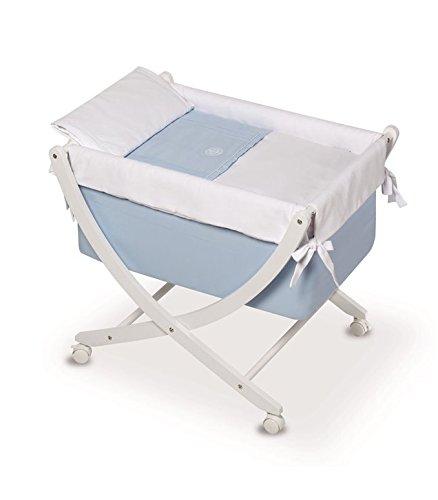 Bimbi Elite – Bébé, 68 x 83 x 76 cm, blanc et bleu