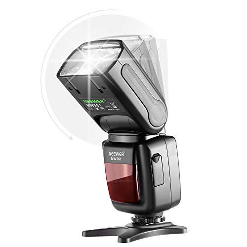 Neewer 2 Packs NW561 Flash Speedlite Kit for Canon Nikon Panasonic Olympus Pentax Fijifilm and Sony Mi Hot Shoe Cameras with 2.4G Wireless Trigger