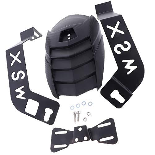 #N/a Guardabarros Trasero de Motocicleta Protector Anti Salpicaduras Protector de Neumáticos con