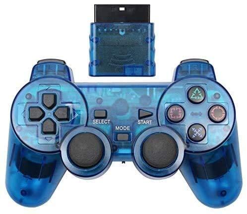 Dujie Mango Gamepad Moblie Juego Mando inalámbrico de PS3 Gamepad for Playstation3 Seis Ejes inalámbrico PS3 Palanca de Mando QPLNTCQ (Color: Azul Claro, Tamaño: 1) ( Color : E Blue , Size : 1 )