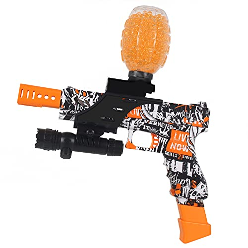 Anstoy Gel Bullets Blaster - Shoots Eco-Friendly Gel Bullet - Backyard Fun and Outdoor Games for...