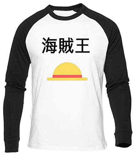 Cannuccia Cappello T-Shirt da Baseball Uomo Donna Unisex Bianca Cotone Organico Men's Women's White