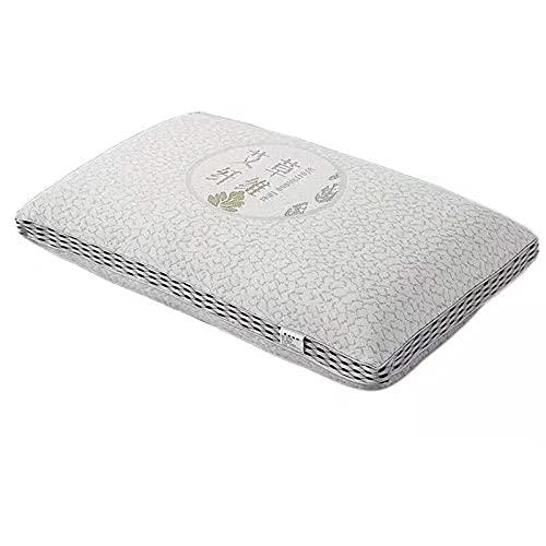 CAIER Almohada protectora de la columna vertebral cervical individual doble ayuda del hogar sueño almohada de espuma de memoria individual 19 x 29 pulgadas