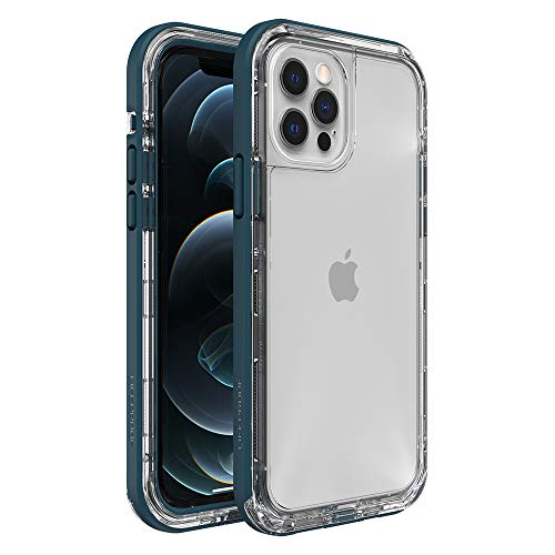 LifeProof Next Series Case for iPhone 12 & iPhone 12 Pro - Clear Lake (Clear/Corsair)